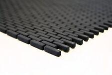 Mosaik Enamel Glas Avantgarde Brick CUBA B21B schwarz matt Matte 275x297x6mm