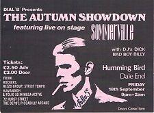 DIAL 'B' Alternative Dance Flyer Flyers A6 18/9/87 The Hummingbird Birmingham
