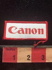 Vtg CANON (Camera Copier Camcorder Maker) Advertising Patch HQ Tokyo Japan 76YG