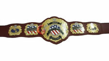 IWGP World Heavyweight Wrestling Championship Replica Belt 2MM Metal Plates