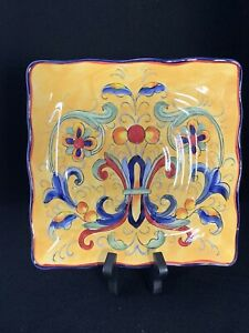 Tuscan Yellow Decorative Plate