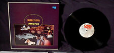 1986 BUBBLE PUPPY REUNION WHEELS GO ROUND UK LP HOT SMOKE AND SASSAFRAS DEMIAN