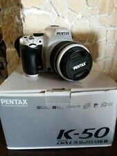 Fotocamera Pentax k 50 come nuova, completa di scatola e accessori.