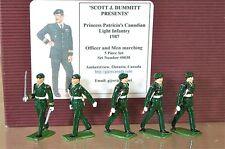 SCOTT J DUMMITT SJD PRINCESSE PATRICIAS CANADIEN CLAIR INFANTERIE 1987 MIB my