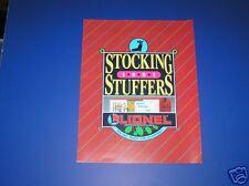 1991 LIONEL STOCKING STUFFERS