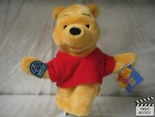 Pooh - Winnie the Pooh hand puppet, Disney; Applause NEW