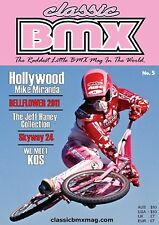 Classic BMX Magazine No5 Old School Hutch Mongoose Skyway Redline Haro GT JMC SE
