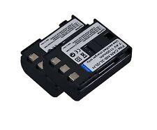 new 2pcs Battery NB2L NB-2LH for Canon 350D 400D PowerShot S50 iVIS DC300 DVM3