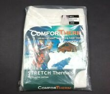NEW Duofold Men's ComforTherm Heavyweight Stretch Thermal Ankle Bottoms Size L