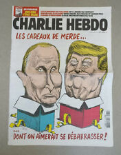 DONALD TRUMP & VLADIMIR PUTIN !!! CHARLIE HEBDO 1275 rare 28 December 2016