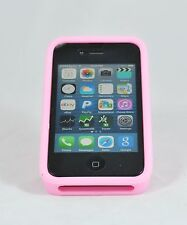 iPHONE 5 / 5s ZOOM PROTECTIVE CASE AND STAND W/ NECK STRAP PINK COLOR