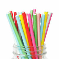 Kitchen & Bar Beverage Wedding Supplies Drinking 500 Paper Straw Tableware