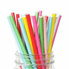 Kitchen & Bar Beverage Wedding Supplies Drinking 500 Paper Straw Tableware