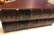 Book Box Wuthering Helyhts Secret Fake Faux Storage  Antique Leather Look