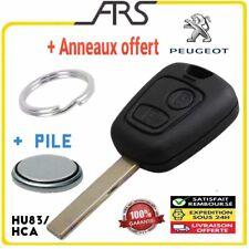 Coque Clé Télécommande Peugeot 307 307CC 307SW HCA TOYOTA AYGO PLIP + Anneau