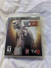 WWE 12 Sony PlayStation 3 PS3 Video Game No Manual Tested