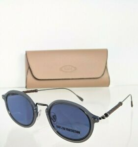 Brand New Authentic Tod's Sunglasses TO 217 20V 48mm Navy Frame TO217