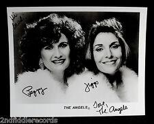 THE ANGELS-Autographed 8 x 10 Photograph-Vocal Group-MY BOYFRIEND'S BACK-COA