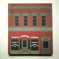 Cats Meow Village Spanky's Hardware ~ PINE Series IX 1991