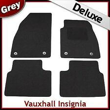 Vauxhall Insignia 2008-2013 Pre-facelift Tailored LUXURY 1300g Car Mats GREY
