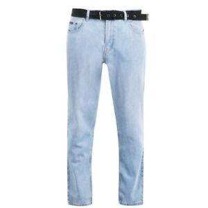 PIERRE CARDIN Web Belt Mens Jeans Size 32R