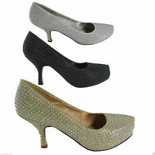 Unbranded Synthetic Kitten Court Shoes for Women