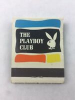 Matchbook The Playboy Club w/ Sticks Collectible