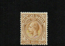FALKLAND ISLANDS 1919 SG65a 1/- LIGHTLY MOUNTED MINT