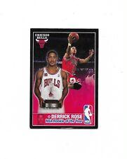 NBA Season 2009 - 2010 DERRICK ROSE Panini Made in Brazil #384