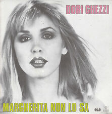 "7"" 45 TOURS FRANCE DORI GHEZZI ""Margherita Non Lo Sa / Luna Park"" 1983 POP"