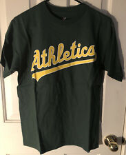 Adult Oakland Athletics Majestic Small S Green Official New MLB