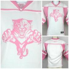 Girls Womens NHL Florida Panters Pink Hockey Jersey 14/16   Large  Imperfect
