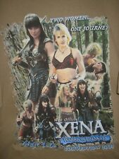 XENA WARRIOR PRINCESS (Lucy Lawless)/Gabrielle T SHIRT Two Women One Journey 2XL