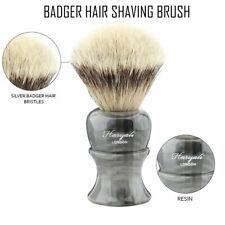 New Men Shaving Silvertip Brush Best Badger Hair Shave Resin Handle Barber Tool