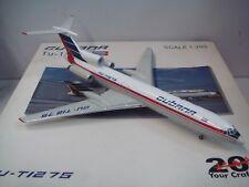 "JC Wings 200 Cubana TU-154M ""1990s color"" Diecast 1:200"