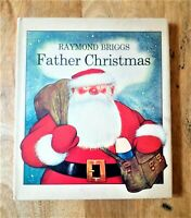 1973 1ST / 1ST EDITION FATHER CHRISTMAS FIRST PRINT RAYMOND BRIGGS (THE SNOWMAN)