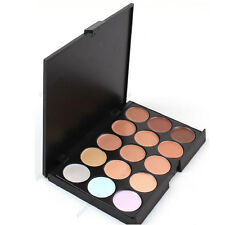 15 Colors Professional  Camouflage Concealer Make Up Cream Palette OZ