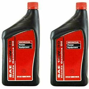 2PK Honda Motor Oil 08207-10W30 -7000i EU2200i GX390 Generator Power Equipment