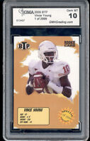 2005 Vince Young Break Through Prospect rookie gem mint 10