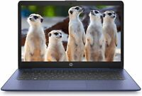 """HP Stream 11.6"""" HD Intel Celeron N4020 2.8GHz 64GB SSD 4GB RAM WIN10 Webcam Blue"""