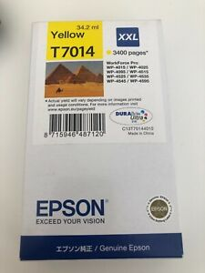 Epson T7014 XXL Yellow ink cartridge