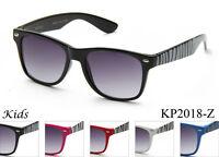 Kids Sunglasses Boys Girls Animal Zebra Print UV 100% Lead Free FDA Approved New