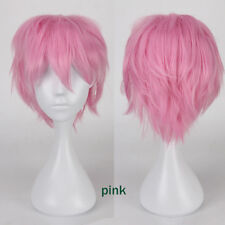 Unisex Anime Wigs Heat Resistant Synthetic Wig For Women Men Fancy Dress Cosplay