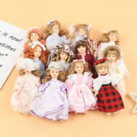 1/12 Dollhouse Miniature Lady Mini Dolls Toy Doll House Decoration Accessori LI