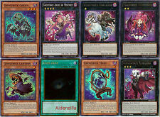 Yugioh Ghostrick Deck - 40 Cards + 14 XYZ - Lantern Mary Dullahan Socuteboss