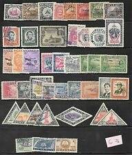 NICARAGUA - old unchecked lot (g76)