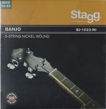Jeux de 5 Cordes pour Banjo Nickelées Medium