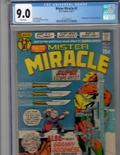 Mister Miracle #2 CGC 9.0 1971