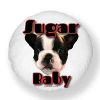 """Sugar Baby""Boston Terrier Snuggle Pillow"