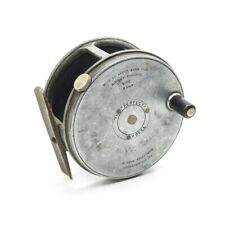 "Vintage Hardy Perfect 3 1/4"" Wide Drum Fly Fishing Reel. Duplicated Mark II."